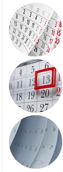 kalendarze trojdzielne kolka